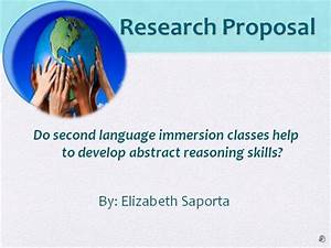 How To Present Thesis Proposal Powerpoint