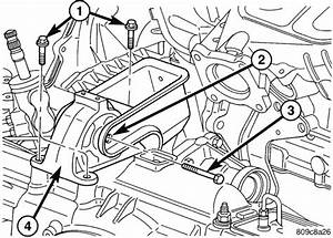 Does Someone Have A Good Diagram Or Picture Showing Where The Engine Mount Bolts Are Located On