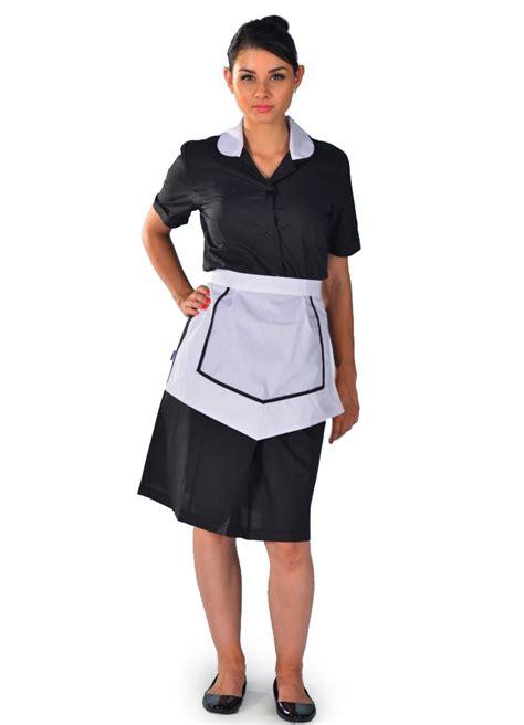 femmes de chambre blouse femme de chambre à manches courte carlton