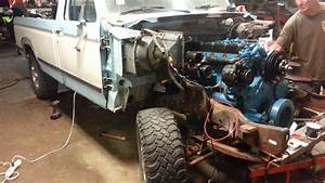 Dt466 F150 First Start In Truck