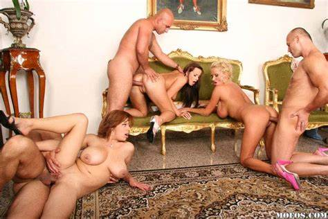 Orgies Breaks Out At Porn Gangbang Wit Sleazy Biggest Chested Libertines Girls Tough Gangbang Crack Swingers