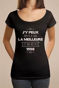 Cadeau Femme 18 Ans : tee shirt original pour des 18 ans r ussi une id e de cadeau d 39 anniversaire avec ce tee shirt ~ Teatrodelosmanantiales.com Idées de Décoration