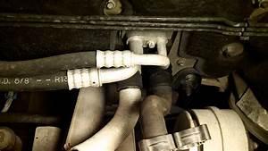 Saturn L-series - Heater Hose Leak