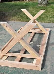 Gartentisch Selber Bauen Holz : gartentisch selber bauen herstellung der beinen ~ Watch28wear.com Haus und Dekorationen