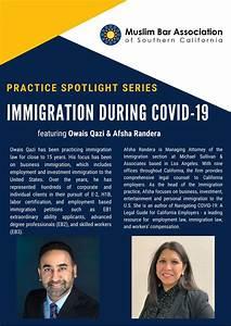 Third Practice Spotlight On Immigration Law  U0026 Covid19