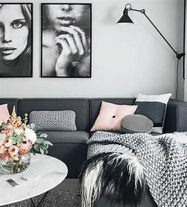 Salon Gris Et Rose : les 25 meilleures id es de la cat gorie tapis gris sur pinterest couleurs de tapis moquette ~ Preciouscoupons.com Idées de Décoration