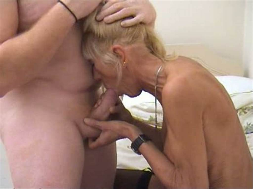 #Old #And #Skinny #Blonde #Cougar #Kay #Gets #Fucked #By #Her #Horny