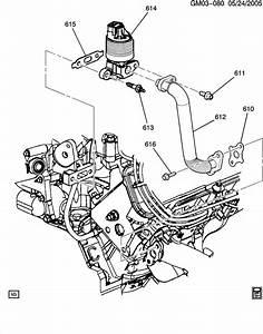 2005 Pontiac G6 E G R  Valve  U0026 Related Parts