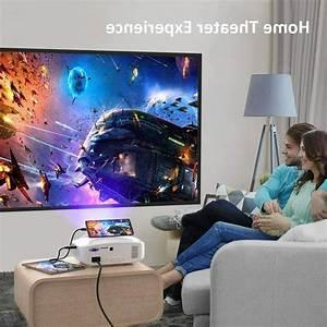 Mini Projector  1080p Full Hd  Movie Projector