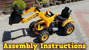 Mini Loader 12v Ride On Bulldozer 2x30w