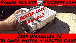Jeep Wrangler Yj - Heater Core And Blower Motor Swap