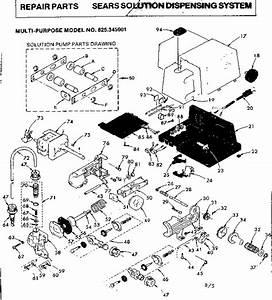 Kenmore 625345901 Plumbing Parts