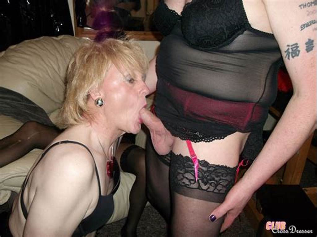 #Crossdressers #Get #Big #Dicks #In #Their #Mouths