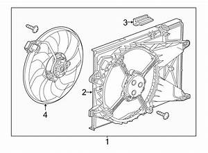 Chevrolet Sonic Engine Cooling Fan Motor
