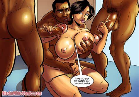 Ebony And Red 0 Comic Porn
