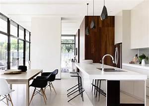 cuisine americaine ouverte sur salle a manger marie claire With awesome comment meubler un studio de 30m2 13 amenager et decorer le salon marie claire maison