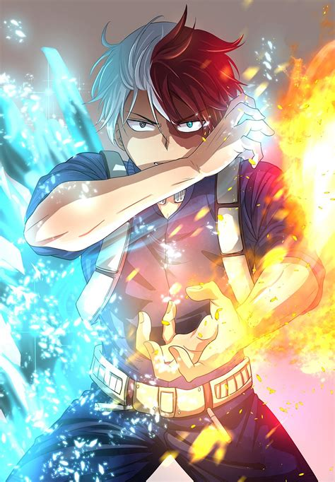 Finally, when you are fully prepared, the adventure begins, and this is when my hero academia: My Hero Academia Art - ID: 124102 - Art Abyss