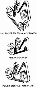 Need A Diagram For Drive Belt For A 1995 Ford Escort