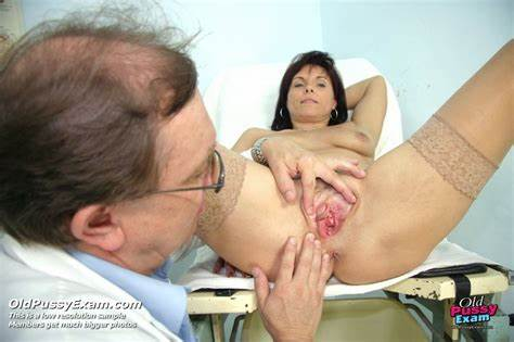 Chubby Gal Exams At Gyno Clinic