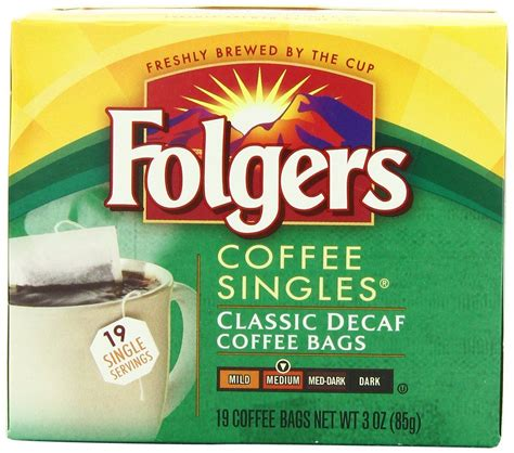 10 best folgers coffees of march 2021. Folgers Classic Medium Roast Decaf Coffee, 19 Count Singles Serve (Pack of 6) *** Additional ...