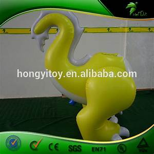 New Custom Pvc Inflatable Sexy Dragon Suit    Yellow