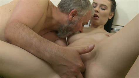 Shaved Ass Old Pussylicking Younger Dick