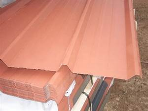 Tole Pour Toiture : tole bac acier brun cuivre pour toiture ou bardage offre ~ Premium-room.com Idées de Décoration