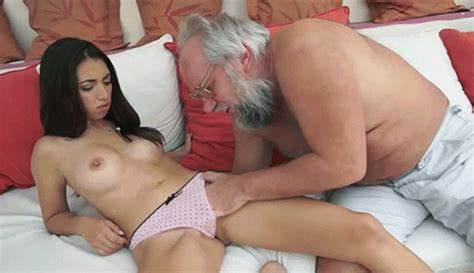 Teen  Haired Pigtailed Granny In Blond Lingerie Taking Porn