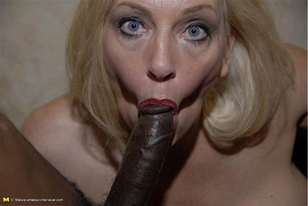 #Horny #Mature #Blonde #Loves #To #Suck #Loads #Of #Black #Dick