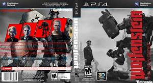 Wolfenstein: The New Order PlayStation 4 Box Art Cover by ...