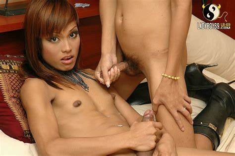 Short Hair Tranny Sucked By Bodies Ladyboy