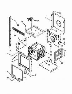 Whirlpool Rbd245prs05 Electric Wall Oven Parts