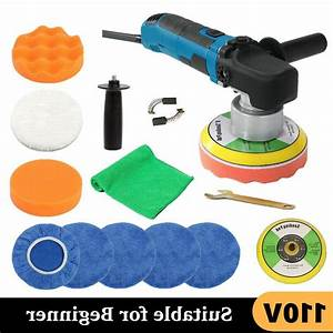 6 U0026quot  680w Car Polisher Kit Electric Buffer Sander