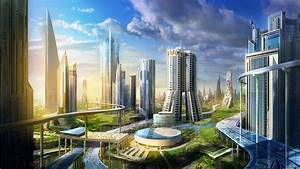 Future City Wallpaper