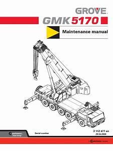 Gmk5170 Maintenance Manual