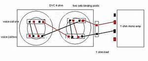 How To Wire Two 4 Ohm Dvc Subs