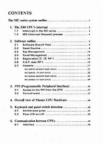 Yamaha Electone Mc Series Service Guide Analysis Service