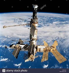 Russian Space Station Mir  Photo Was Taken By The Crew Of
