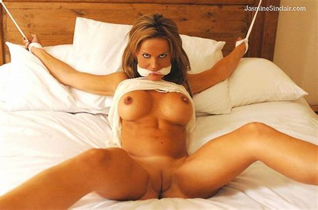 #Nude #Women #Tied #Spread #Eagle