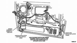 How To Remove And Replace Door Lock Actuator  1994 Ford Xlt