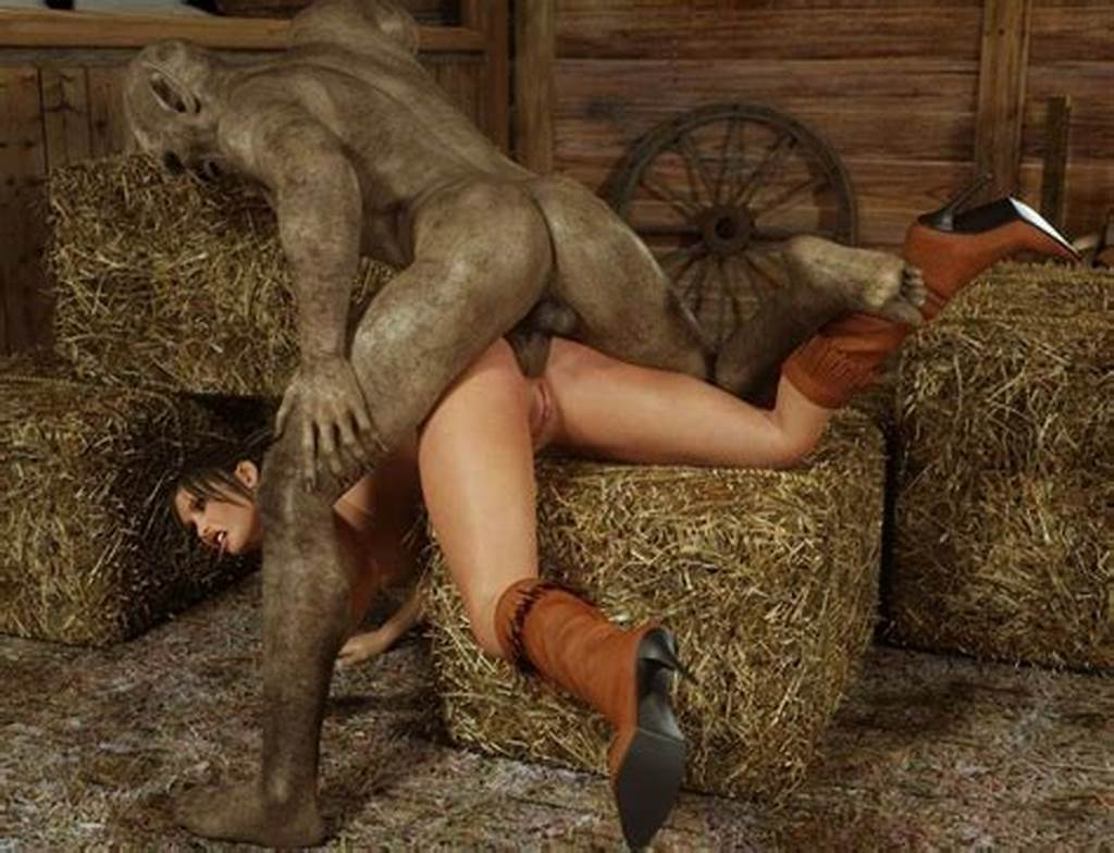 #Mutant #Butt #Fucking #Country #Girl #In #Boots #From #Raunchy3D