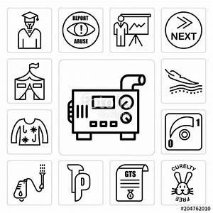 Diesel Generator Drawing Symbol