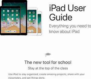 Apple A1893 Tablet Device User Manual Ipad User Guide