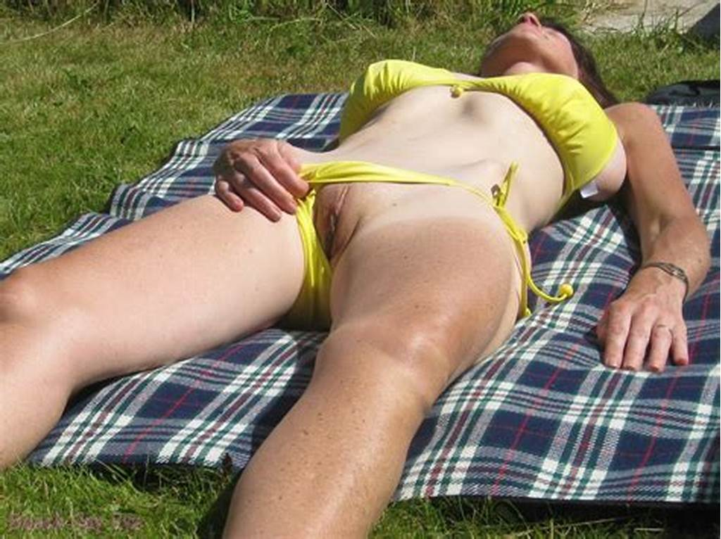 #They #Shows #Pussy #Under #Bikini #At #Public #Beaches