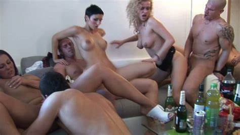 Party Czech Baby In Deepthroat Four