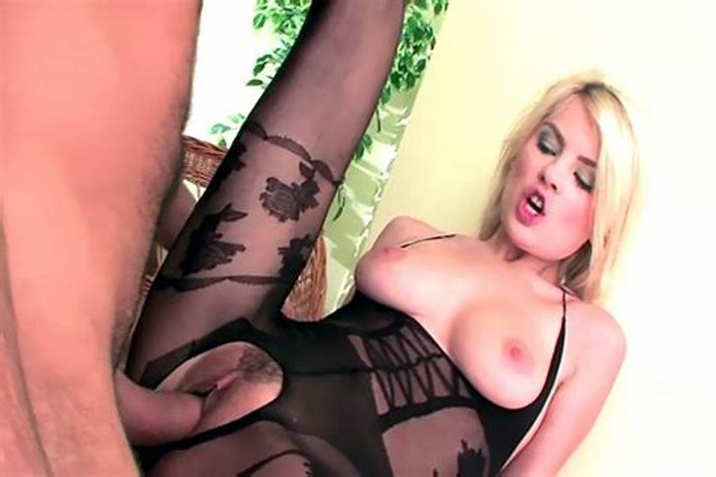 #Crotchless #Bodystocking #Sex #And #Wet #Blowjob