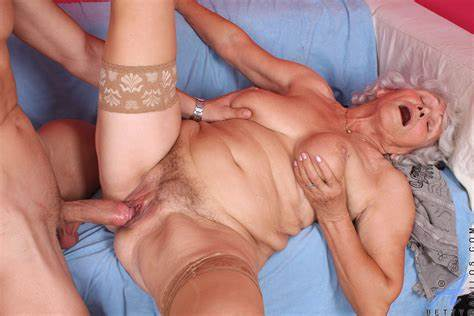 Kinky Pigtailed Grandma Takes Messy Ass Banged By Bbc