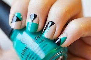 32 Amazing DIY Nail Art Ideas Using Scotch Tape - Style ...