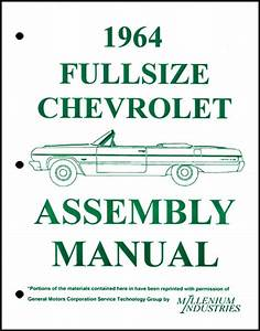Assembly Manual W   Factory Instruction Guide  1964