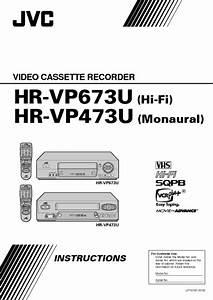 Hr-vp673u Manuals